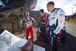 Jari-Matti Latvala, Toyota Racing, Thierry Neuville, Hyundai Motorsport, Ott Tänak, M-Sport