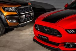 Tickford Ford Mustang detail