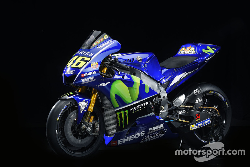 Das neue Bike von Valentino Rossi, Yamaha Factory Racing