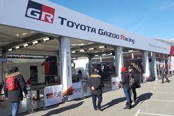 Hospitality e garage Toyota Gazoo Racing WRC