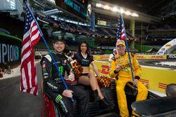 Team USA NASCAR Kurt Busch and Kyle Busch