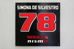 Simona de Silvestro's number