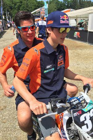 Jesús Prado y Jorge Prado, KTM Factory Racing