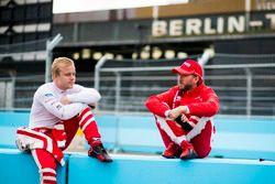Felix Rosenqvist, Mahindra Racing und Nick Heidfeld, Mahindra Racing