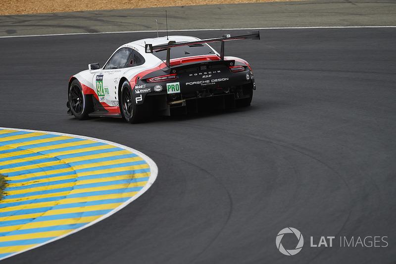 #92 Porsche Team, Porsche 911 RSR: Michael Christensen, Kevin Estre, Dirk Werner