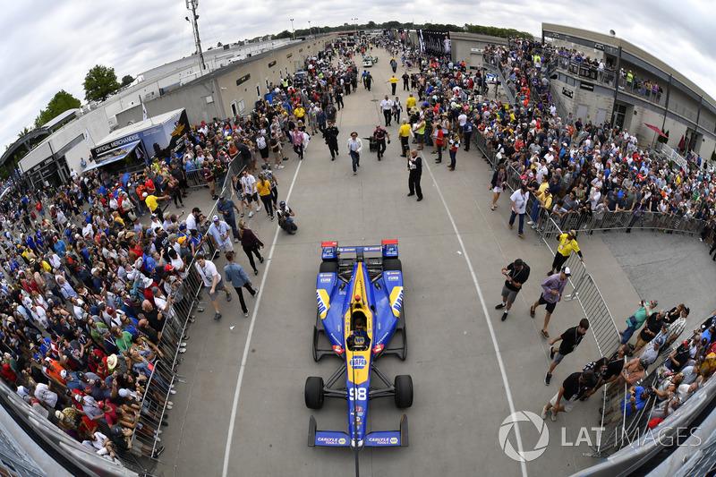 Alexander Rossi, Herta - Andretti Autosport Honda Gasoline Alley