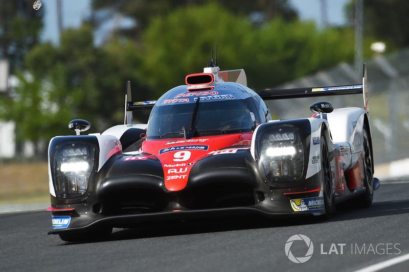 LMP1: #9 Toyota Gazoo Racing, TS050 Hybrid