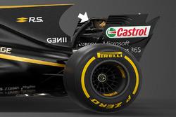 Renault Sport F1 Team RS17 detail