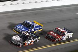 Korbin Forrister, Toyota; Chase Briscoe, Brad Keselowski Racing Ford; Austin Self, Toyota