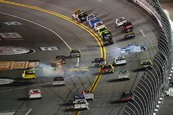 Austin Cindric, Brad Keselowski Racing Ford, spins