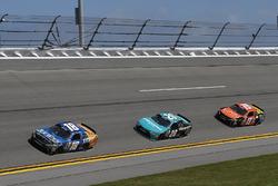 Daniel Suarez, Joe Gibbs Racing Toyota, Erik Jones, Joe Gibbs Racing Toyota, Matt Tifft, Joe Gibbs R