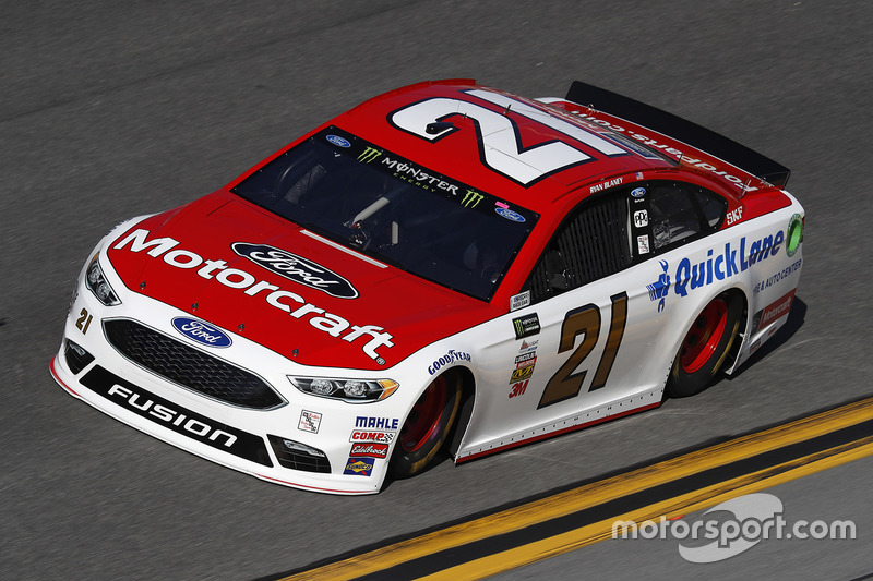#21: Ryan Blaney, Wood Brothers Racing, Ford