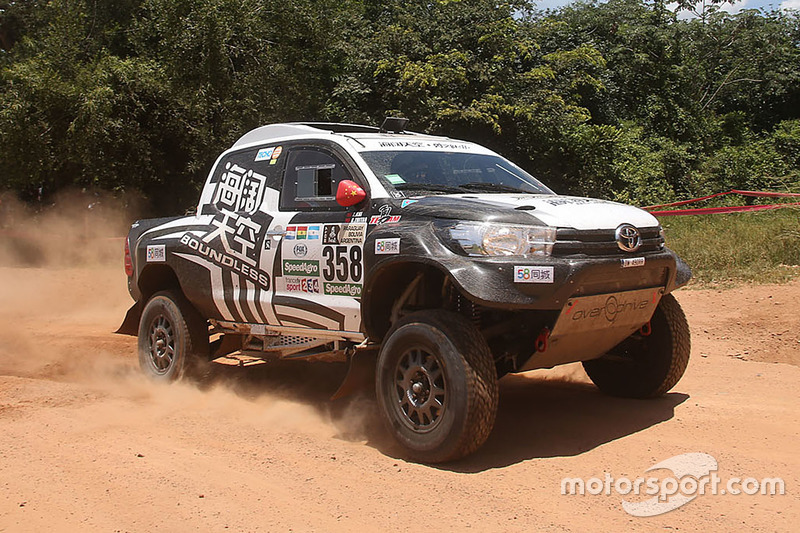 #358 Toyota: He Zhitao, Kai Zhao