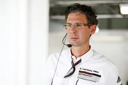 Dr. Frank-Steffen Walliser, hoofd van Porsche Motorsport
