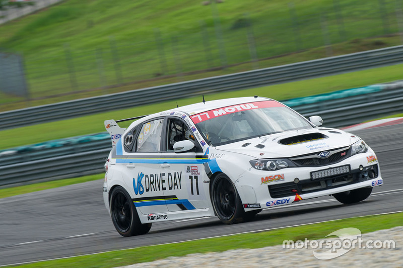 #77 Jim Hunter Motorsport Subaru STi Impreza 2.0 Jim Hunter, Grant Johnson, Andrew MacPherson, Allan Letcher
