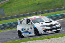 #77 Jim Hunter Motorsport Subaru STi Impreza 2.0 Jim Hunter, Grant Johnson, Andrew MacPherson, Allan