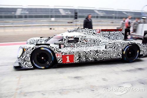 Porsche Aragon January testing
