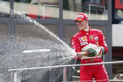 Podium : Michael Schumacher, Ferrari