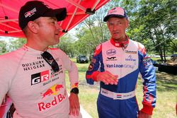 Жиньель де Вильерс, Toyota Gazoo Racing, и Эрик ван Лон, Van Loon Racing