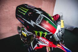 Helm von #17 Monster Energy Honda Team: Paulo Goncalves