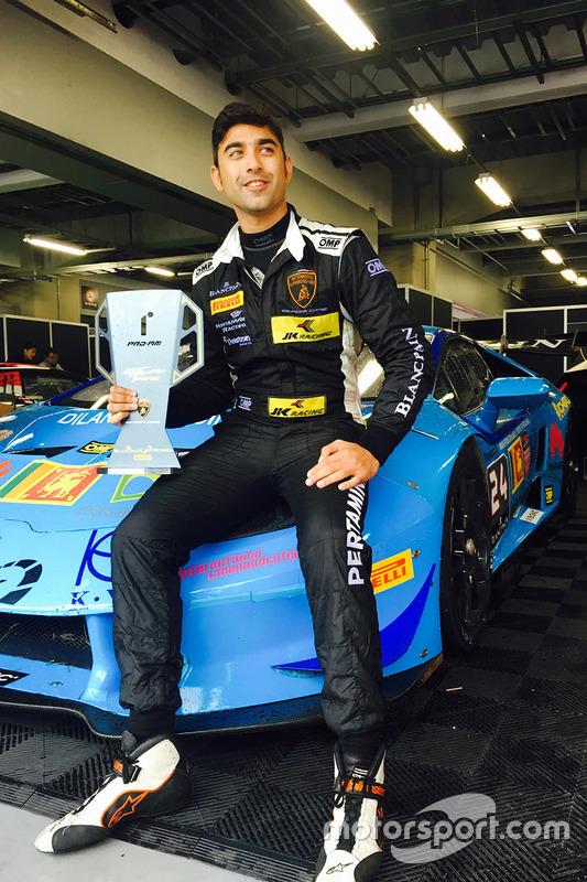 Armaan Ebrahim, Dilango Racing