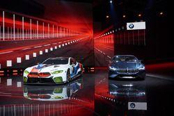BMW M8 GTE met de BMW 8-series