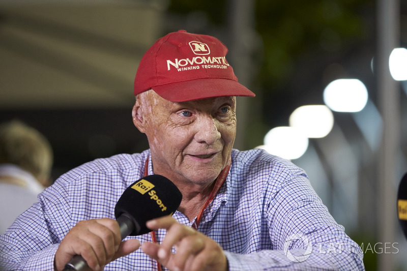 Niki Lauda, Presidente Non-Esecutivo, Mercedes AMG F1