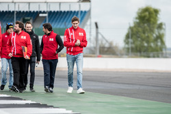 Vitaly Petrov, Manor during track walk
