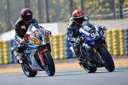 #94 Yamaha: Mike de Meglio, Niccolo Canepa, David Checa; #56 BMW: Rico Löwe, Didier Grams, Pedro Val