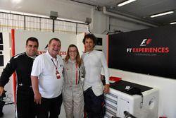 F1 Experiences 2-Seater passenger, Paul Stoddart, Zsolt Baumgartner, F1 Experiences 2-Seater driver