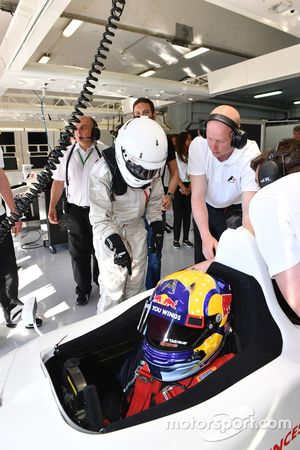 Patrick Friesacher, F1 Experiences 2-Seater driver and passenger