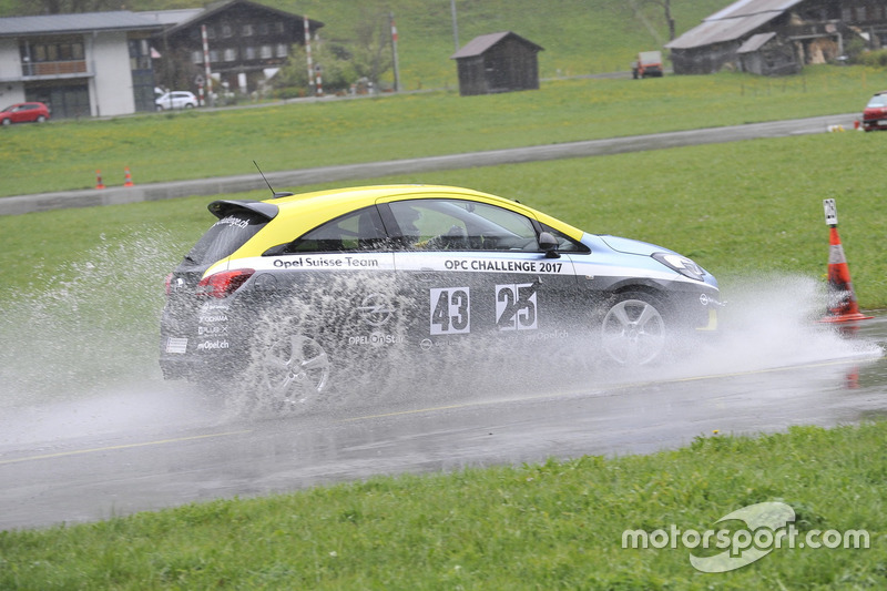Fabio Gubitosi, Opel Corsa OPC, Opel Suisse Team
