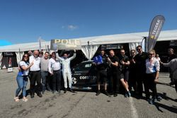 Pole position for Frédéric Vervisch, Comtoyou Racing, Audi RS3 LMS with the team