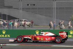 2017 Rusya GP Sanal F1 Turnuvası Mehmet Bayrak