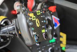 Clearwater Racing Ferrari 488 GTE steering wheel