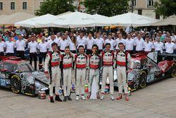 №37 DC Racing Oreca 07 Gibson: Дэвид Чен, Алекс Брандл, Тристан Гомменди; №38 DC Racing Oreca 07 Gib
