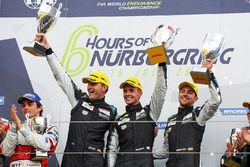 LMGTE Am Podium: first place Christian Ried, Matteo Cairoli, Marvin Dienst, Dempsey Proton Competition