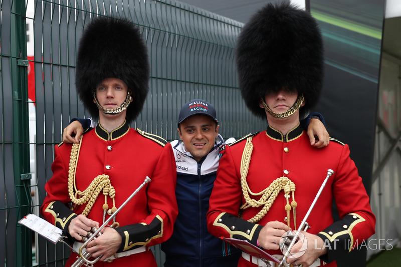 Felipe Massa, Williams and Palace Guards
