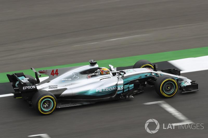 2017: Lewis Hamilton, Mercedes F1 W08 EQ Power