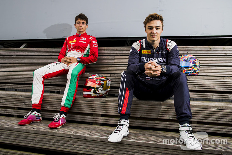 Charles Leclerc, PREMA Powerteam, Artem Markelov, RUSSIAN TIME