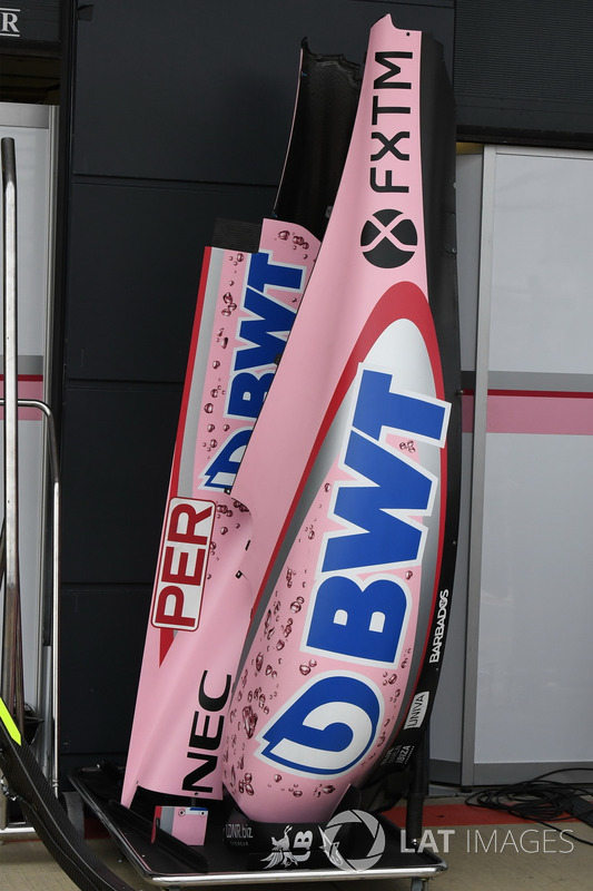 Force India VJM10: Bodywork