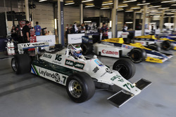 A Carlos Reutemann Williams FW07b is demonstrated