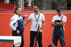 Claire Williams, Antonio Pizzonia, Felipe Massa, Williams