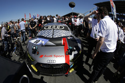 #10 Audi Sport Team WRT, Audi R8 LMS: Frank Stippler, René Rast, Frédéric Vervisch, Nico Müller