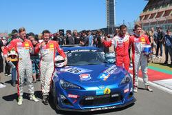 Manuel Amweg, Nils Jung, Frédéric Yerly, Florian Wolf, Toyota GT86, Ring Racing