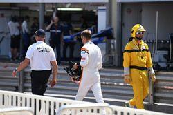 Retiro de la carrera de Jenson Button, McLaren