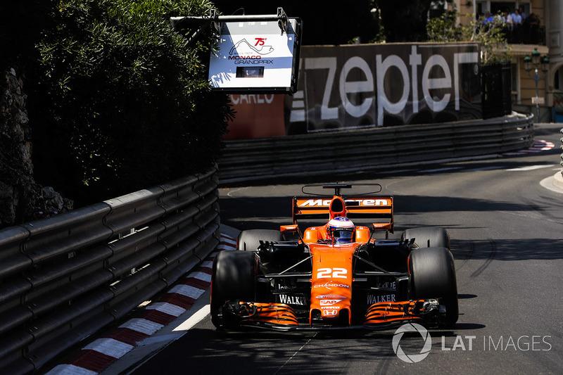 Button fez uma última aparição especial no GP de Mônaco de 2017, quando substituiu Alonso