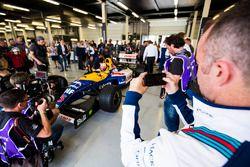 Paddy Lowe, Karun Chandhok, Williams FW14B Renault