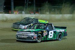 John Hunter Nemechek, SWM-NEMCO Motorsports Chevrolet and Austin Cindric, Brad Keselowski Racing For