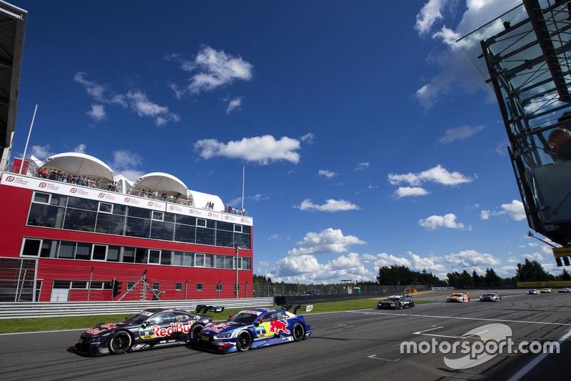 Марко Віттманн, BMW Team RMG, BMW M4 DTM, Маттіас Екстрьом, Audi Sport Team Abt Sportsline, Audi A5